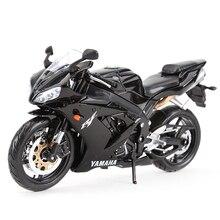 Maisto 1:12 Yamaha YZF R1 döküm araçları koleksiyon hobiler motosiklet Model oyuncaklar