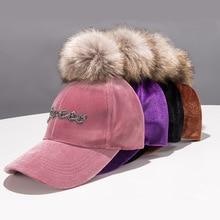 цена на Ponytail Baseball Cap Women Snapback Fashion Hat Autumn and Winter New Alphabet Baseball Cap Adjustable Hip Hop Hats visors