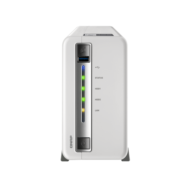QNAP TS 212P3 , four core dual disk  NAS, network storage server, home private cloud server QNAP TS 212P3 nas