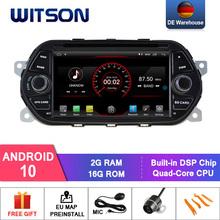 DE magazynie! WITSON Android 10 0 IPS ekran HD samochodowy odtwarzacz DVD dla FIAT TIPO EGEA 2015-2017 4GB RAM + 64GB FLASH 8 Octa Core + DVR opcjonalnie tanie tanio CN (pochodzenie) Double Din 4*50w 256G System operacyjny Android 10 0 Dvd-r rw Dvd-ram Video cd Jpeg plastic and metal 1024x600 HD