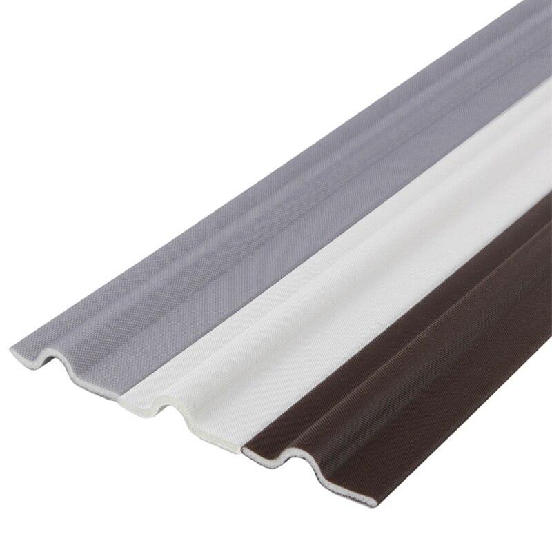 Auto-adhésif fenêtre Gap bande détanchéité coupe-vent insonorisé mousse porte coulissante bas joint bande garde scellant bouchon de poussière