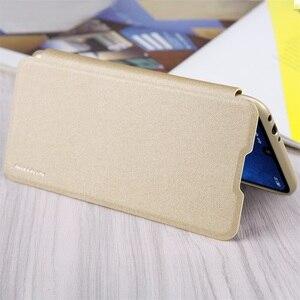 Image 5 - Pour Xiaomi Redmi 7 5 6 6A étui à rabat NILLKIN brillant luxueux super mince étui en cuir PU étui pour Xiaomi Redmi Y3 sacs de téléphone