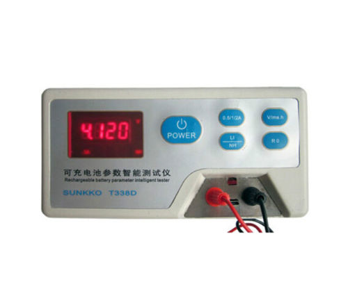 T338D Rechargeable Battery Parameter Intelligent LED Power Supply Tester