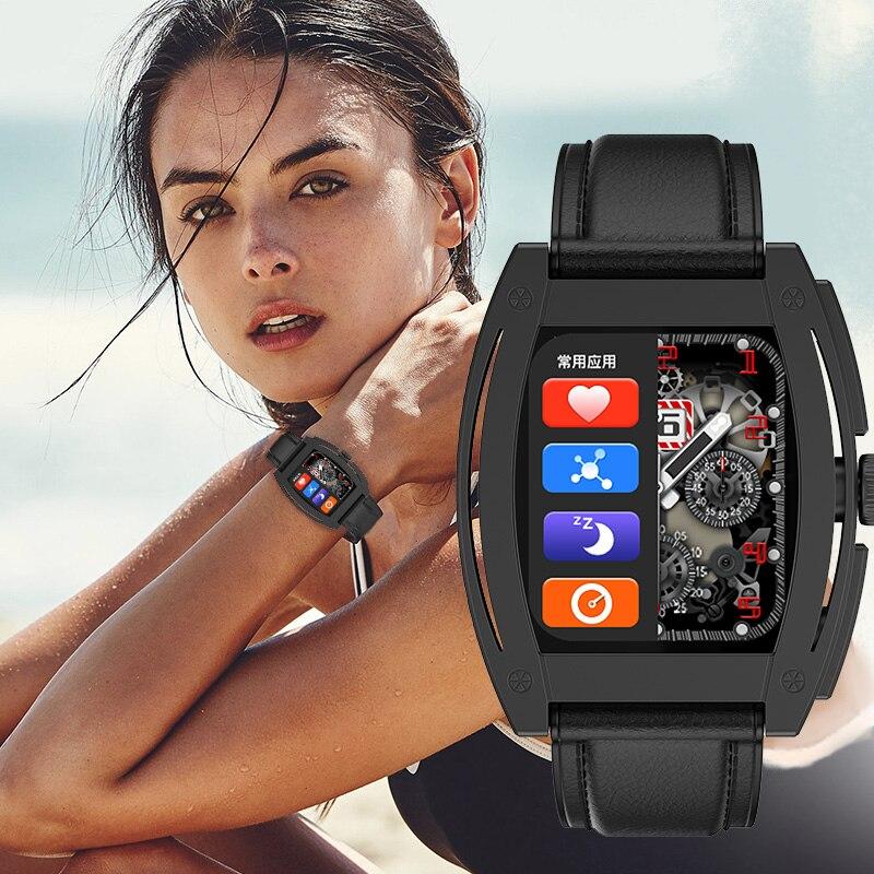 Permalink to 2021 new Smart Watch Women's watch digital vintage Reminder Screen Sport Fitness Waterproof Smartwatch Ki8 For Android ios