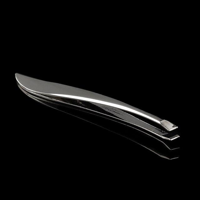 1 Pc Stainless Steel Anti-static Tweezers Watchmaker Epilation Eyebrow Tweezers Clip Nose Tweezers Eyebrow Beauty Makeup Tools 4