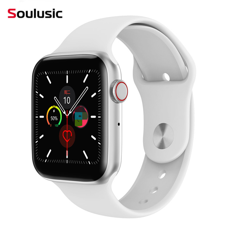 Soulusic IWO 8 Lite Bluetooth Call Smart Watch ECG Heart Rate Monitor W34 Smartwatch for Android iPhone xiaomi PK IWO 8 10 Band(China)