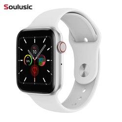 Soulusic IWO 8 Lite Bluetooth llamada reloj inteligente monitor de frecuencia cardíaca ecg W34 Smartwatch para Android iPhone xiaomi PK IWO 8 10 banda