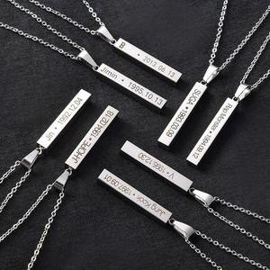 Kpop Bangtan boys necklace Titanium steel JUNGKOOK V SUGA JIMIN JIN fashion korean style bangtan boys kpop necklace