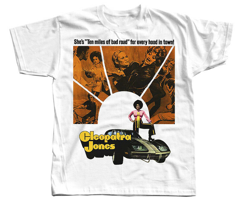 Cleopatra Jones Movie Poster 1973 Tamara Dobson T Shirt White All Sizes S 3xl Tee Shirt Summer O Neck Tops T Shirts Aliexpress
