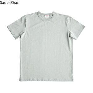 Image 4 - SauceZhan 3 Kim Gia Cố Nam Mùa Hè Áo Thun Cotton Cổ Tròn Chắc Chắn Áo Thun Dành Cho Người Đàn Ông Dày Mềm Mại Không Bị Biến Dạng
