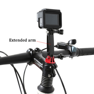 Image 5 - 3 in 1 Extension Pivot Arm Adjustable Monopod Bracket + Thumb Screw Mount for GoPro Hero 7 6 5 4 Go Pro Sport Camera Accessories