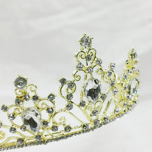 2019 New Style Bridal CROWN Hair Band Wedding Headdress European And American-Style Hot Selling Crystal Wedding Veil Accessories(China)