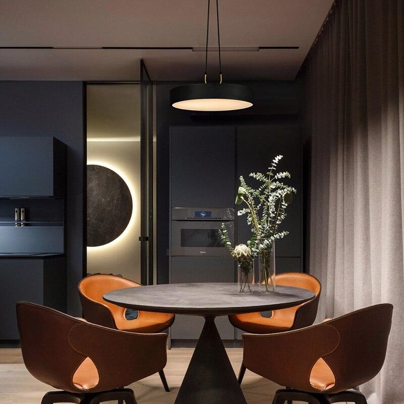 Aisilan minimalistische LED hanglamp Nordic stijl Cilindrische Moderne voor eetkamer cafe bar persoonlijkheid hanger lamp - 2
