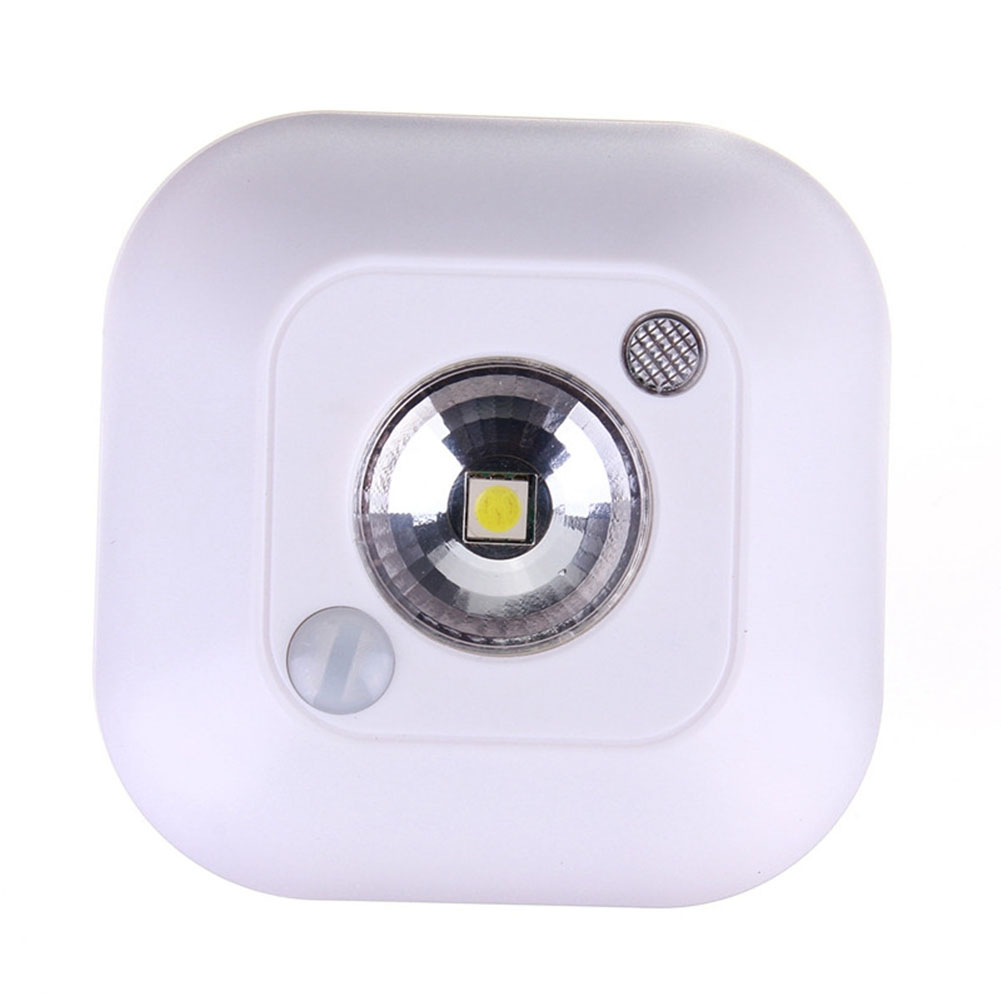 New Motion Sensor Ceiling Night Light Battery Powered Porch Lamp