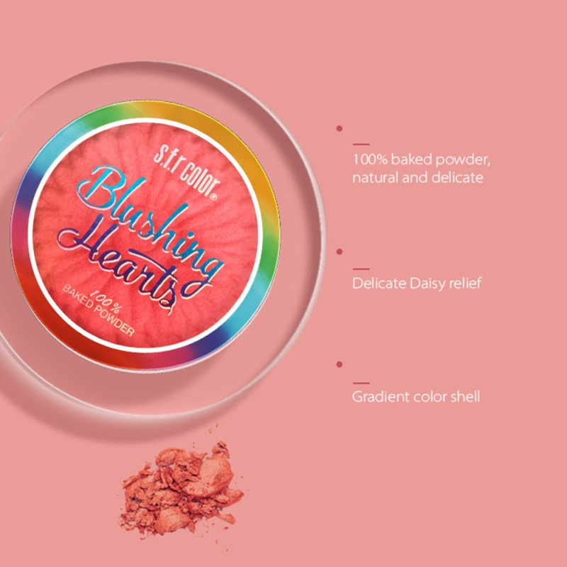 Одноцветная румяна, пудра, палитра, стойкая водостойкая шелковистая свечение румяна, инструмент для макияжа