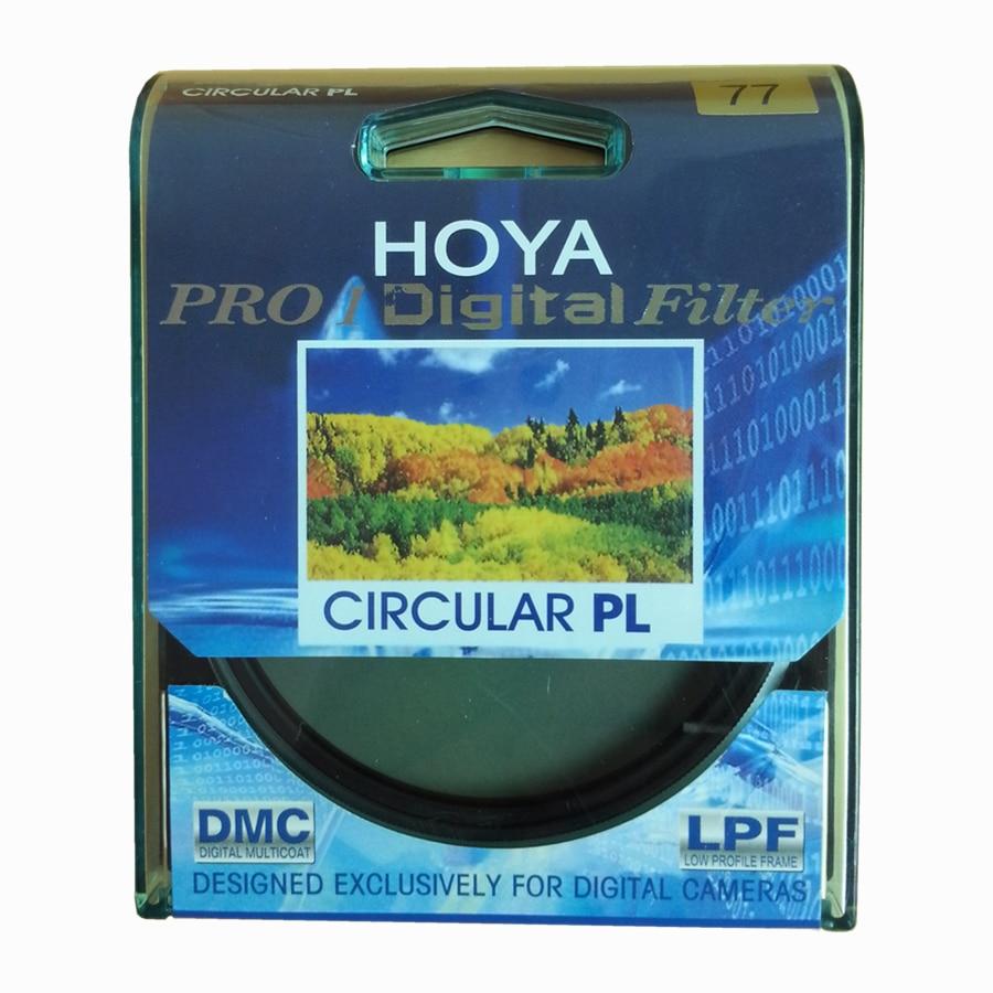 Hoya pro1 digital cpl 49 52 55 58 62 67 72 77 82 mm polarizador filtro pro 1 dmc CIR-PL multicoat para lente da câmera