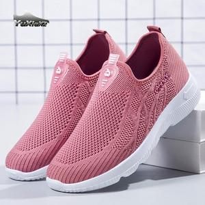 Women Shoes Women's sports shoes 2021 Shoes For Women's Autumn Winter Shoes Breathable Women Flats Sneakers Women 2-01