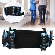 Correia de tração da cintura paciente idosos andando transferência em movimento assistência de segurança de enfermagem cinto de apoio de transferência de cama de cadeira de rodas