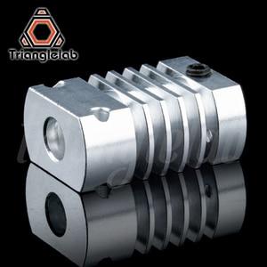 Image 5 - Trianglelab T CR10 Hotend upgrade KIT Alle Metall/PTFE kühlkörper Titan wärme pause für CR 10 CR 10S Ender3 upgrade Kit
