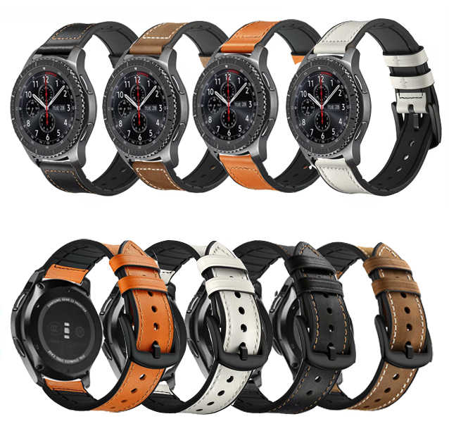 22 Huami Amazfit GTR 47 Mm Tali untuk Samsung Gear S3 Pebble Waktu Galaxy Watch 46 Mm Band Ticwatch 1 Huawei GT 2 46 Mm Honor Magic