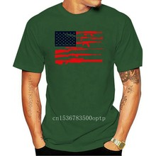 Gun American Flag - 2nd Amendment Rights USA Men's T-Shirt