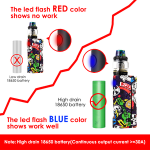 Image 3 - Electronic Cigarette Box Mod Vape Vapor Storm ECO Max 90W Graffiti Color Bypass Mode 510 Thread Without Battery Support RDA RDTA