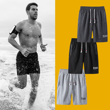 Summer Shorts Fitness Bodybuilding Male Breathable Plus-Size 6XL 4XL 5XL Brand Casual