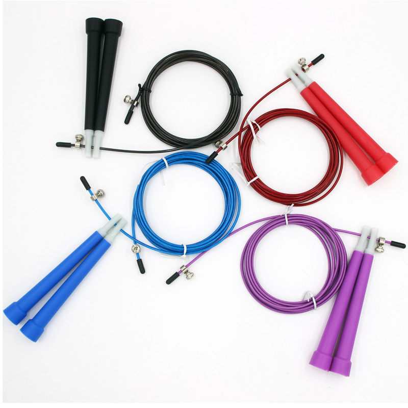 Steel Wire Jump Rope   Fitness Men And Women Adult Sports Children Primary School STUDENT'S The Academic Test For The Junior Hig
