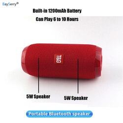TG117 Outdoor Draagbare Draadloze Blueteeth Speaker Stereo Bass Usb/Tf/Fm Radio Audio Outdoor Luidsprekers Boombox Voor Huawei xiaomi 9