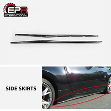 For Nissan Z34 370z Car Covers Car Accessories Carbon Fiber Side Skirt Step Extension Body Kit Cay-styling Fit Body Kit cheap China RiGht Side skirt step extesion China (Mainland) Glossy Finish Light Weight UV Protected