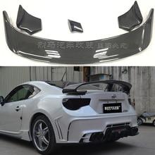 GT86/ BRZ ROWEN Style Spoilers For Toyota 86/BRZ TOMMYKAIRA Carbon & Fiber Trunk Spoiler
