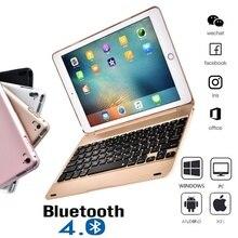 2019 IPad Pro 9.7 Inch Bluetooth Keyboard Ipad Air 2 Keyboard and Mini 1234 Keyboard with ABS Protective Case