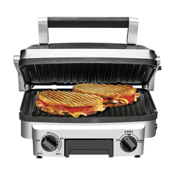 Electric BBQ Grill Barbecue Machine Sandwich Maker Machine Household Commercial Smokeless Electric Grill Steak Grilled Meat Pan