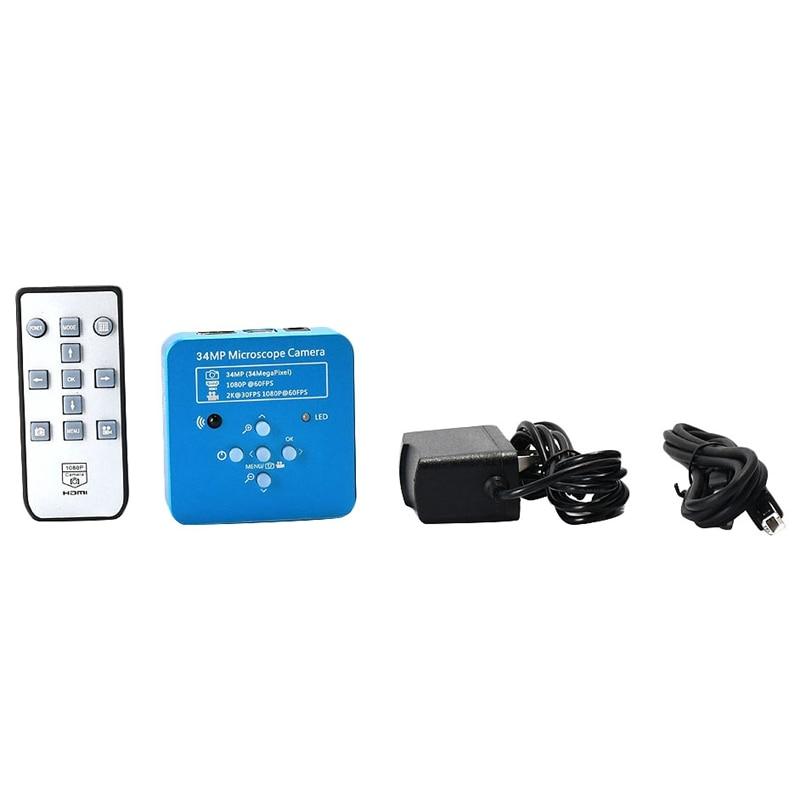 34Mp 2K 1080P 60Fps Hdmi Usb Industrielle Elektronische Digital Video Löten Mikroskop Kamera Lupe Für Telefon Pcbtht Reparing - 3