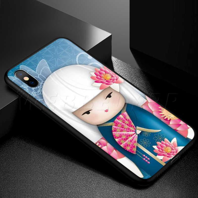 حافظة كوكيشي يابانية عصرية من Webbedepp لهواتف أبل آيفون 11 برو XS Max XR X 8 7 6 6S Plus 5 5s SE