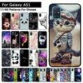 Чехол для samsung Galaxy A51  новинка 2019  модная силиконовая Мягкая задняя крышка из ТПУ  чехол для samsung A51 A 51  чехлы для телефонов A51