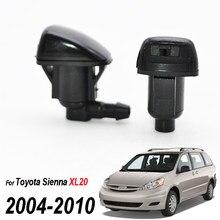 Erick der Wischer 2 Teile/los Frontscheibe Wiper Washer Jet Düse Für Toyota Sienna XL20 2004 - 2010 85381AE020