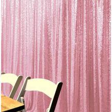 Shinybeauty 2x10ft розовый фон с пайетками занавески выпускного вечера фоны Свадебные украшения фото занавески для заднего плана для Girls-M190727