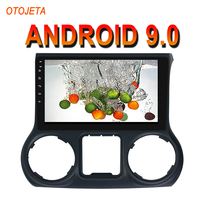 OTOJETA Android 9.0 2.5D Screen Car Radio Player For JEEP WRANGLER 2011 2014 bluetooth Multimedia Stereo GPS Navi tape recorder