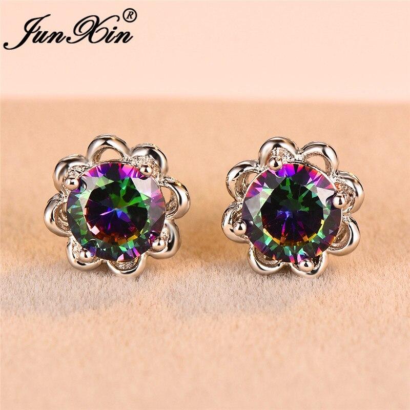 Rainbow Earrings 01