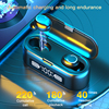 2020 New F9 TWS Bluetooth 5 1 Earphones Wireless Headphones 2000mAh LED Display Sports Waterproof Earbuds 9D Stereo Headsets review
