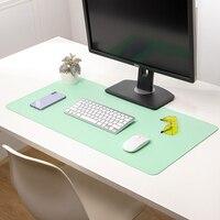 Almohadilla de ratón de Anime Extra grande, alfombrilla de escritorio antideslizante, impermeable, de cuero y PVC, para Gaming, CSGO/LOL juego, oficina y trabajo, XL