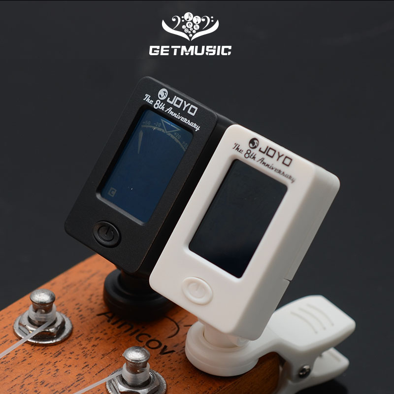 Joyo JT-01 Chromatic Clip-On Digital Tuner 360 Degree Rotatable Guitar Tuners Machines For Guitar Bass Violin Ukulele