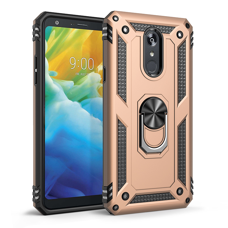 Armor Phone Case For LG Stylo 2 3 5 K40 K12 X4 K50 Q60 K10 K30 Aristo 4 3 K30 Plus 2019 2018 Shockproof Holder Stand Cove Cases