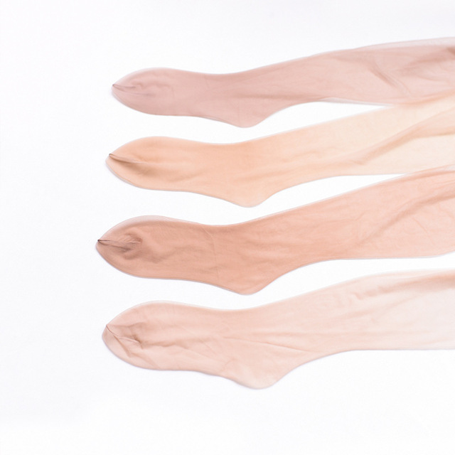 Silky seamless stockings 360 pantyhose toes full transparent ultra-thin no trace sexy invisibility 3