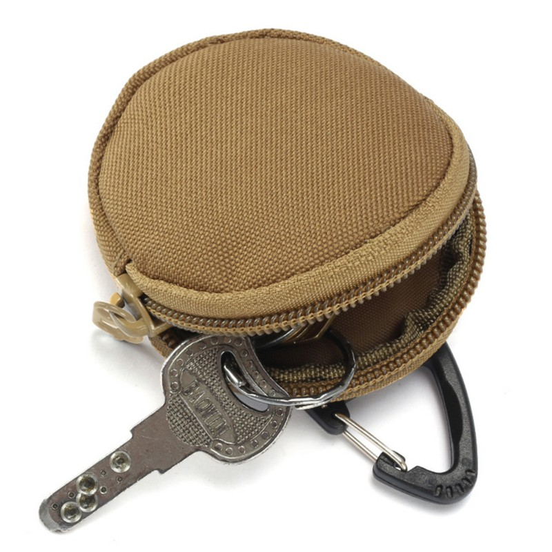 Portable Storage Bag Army Fans Outdoor Camping Keychain Holder Case Waist Pack Tactical EDC Purse Wallets Bag1