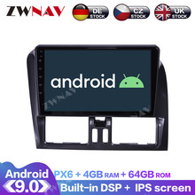 цена на Android 9.0 With DSP Carplay IPS Screen For Volvo XC60 2009 2010 2011 2012 RDS Car GPS Navigation Radio DVD Player Multimedia