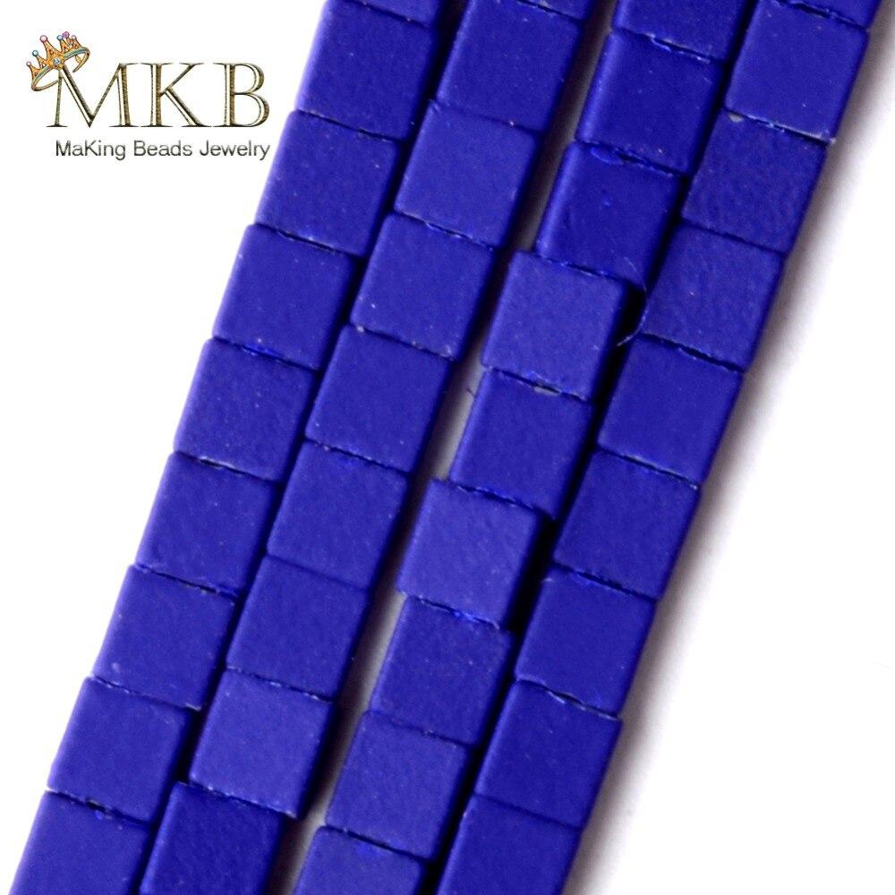 s1117 a蓝色正方形橡胶黑胆石