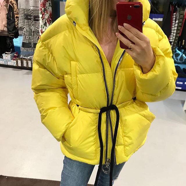 2019 de lujo nueva chaqueta de alta calidad para mujer, abrigo de ganador, chaqueta de abrigo, ropa informal para mujer, 2 colores, gdnz 9,02-in chaquetas básicas from Ropa de mujer    2
