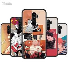 Given Anime Case for Xiaomi Redmi Note 8T 8 8A K20 7 7A 7S 6 6A Pro Black Silicone Phone Cover Soft TPU Funda Capa princess mononoke anime case for xiaomi redmi note 8t 8 8a k20 7 7a 7s 6 6a pro black silicone phone cover soft tpu funda capa